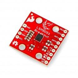 LSM9DS1 9DoF IMU - 3-axis...