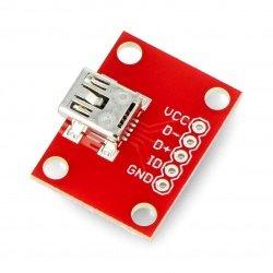 MiniUSB type B 5 pin -...