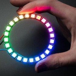 Adafruit NeoPixel Ring - ring LED RGB 24 x WS2812 5050