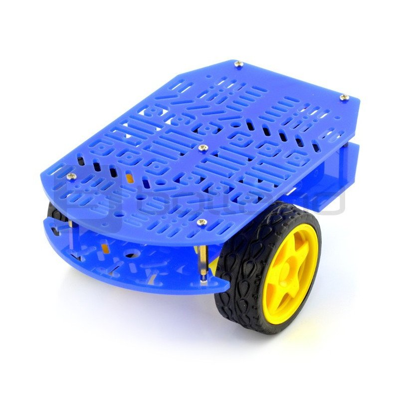 Magician Chassis - SparkFun undercarriage