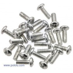 Screws: 4-40, 5/16 (25-pack)