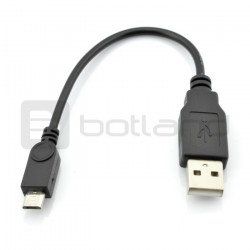USB cable A - microUSB Goobay - B 0.1 m