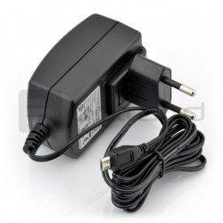 MicroUSB 5V 2A Raspberry Pi power supply - original T5582DV - black