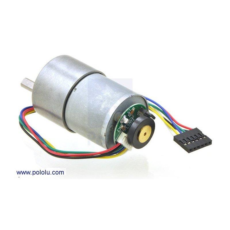 Geared motor 37Dx52L mm 19:1 + CPR 64 encoder