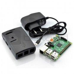 Raspberry Pi 2 model B + enclosure + power supply
