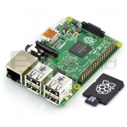 Raspberry Pi 2 model B 1GB RAM with memory card + system