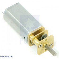 Mini Polyole motor with 35:1 gearbox