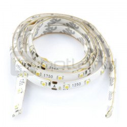 LED bar IP20 6W, 60 diodes/m, 8mm, cold color - 1m