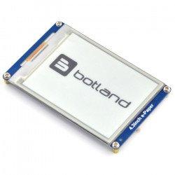 Waveshare E-paper 4.3'' 800x600px - display module UART