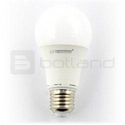 Esperanza LED bulb, milk bubble, E27, 12W, 1150lm, warm color