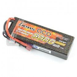 LiPol Gens Ace 5000mAh 50C 2S 7.4V package