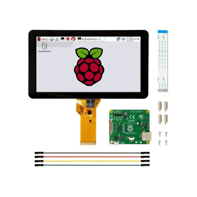 """7"""" touch screen 800x480px capacitive DSI for Raspberry Pi"""