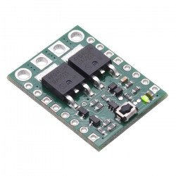 Large Push MOSFET switch HP 4.5-40V - with protection against reverse current