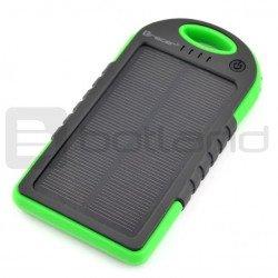 PowerBank Tracer Solar Mobile battery Green 5000mAh