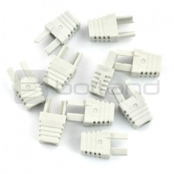 Bend for cable RJ45 8P8C - grey - 10 pcs.