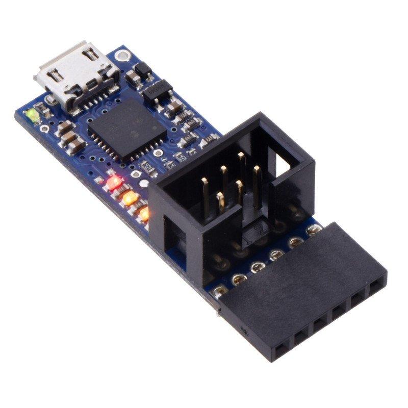 USB AVR Polol v2 programmer - microUSB 3.3V/5V