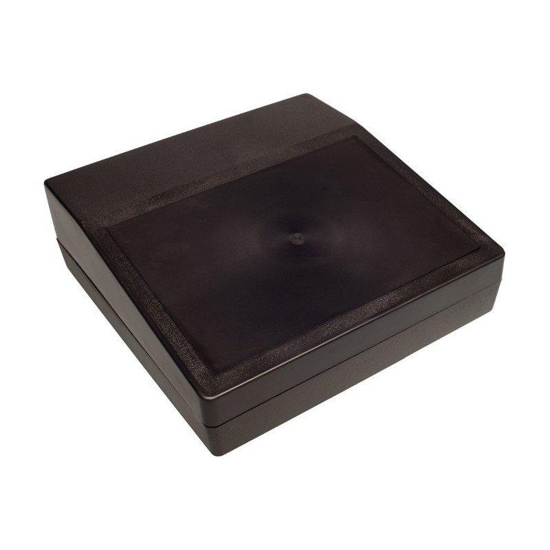 Plastic housing Kradex Z25 - 220x220x78mm black