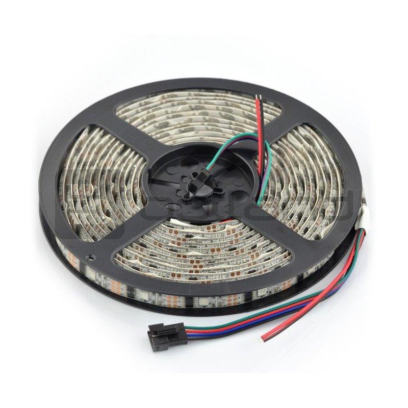 RGB LED bar WS2801 IP65 32 LED/m, 10.8W/m, 12V - 5m