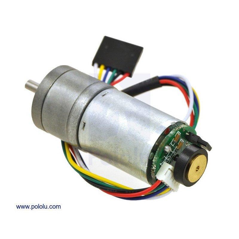 Geared motor 25Dx54L mm HP 99:1 + CPR 48 encoder