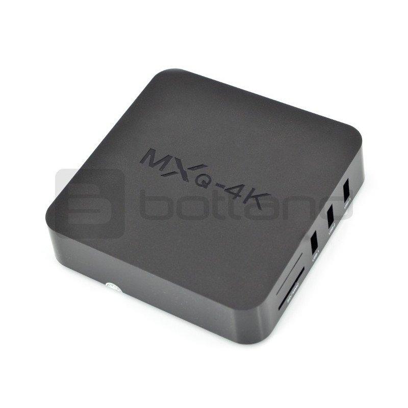 Android 4.4 Smart TV Box MXQ 4K Kodi QuadCore 1GB RAM