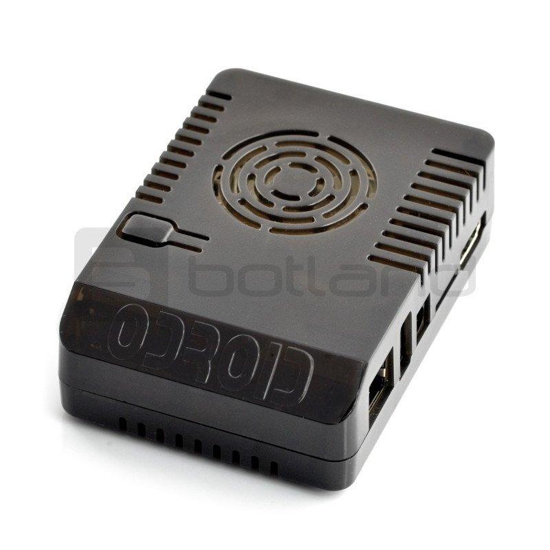 Enclosure for Odroid XU4 upper part 1/2 - black