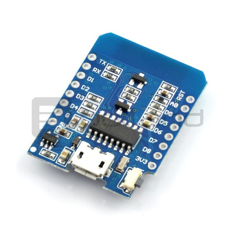 D1 mini WiFi ESP8266 IoT - compatible with WeMos and Arduino