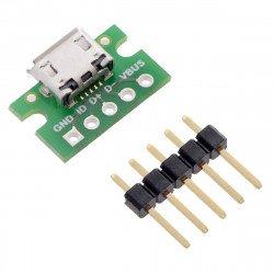 MicroUSB type B 5 pin -...