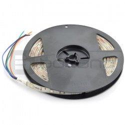 LED bar SMD3528 IP20 4.8W, 60 diodes/m, 8mm, heat color - 5m