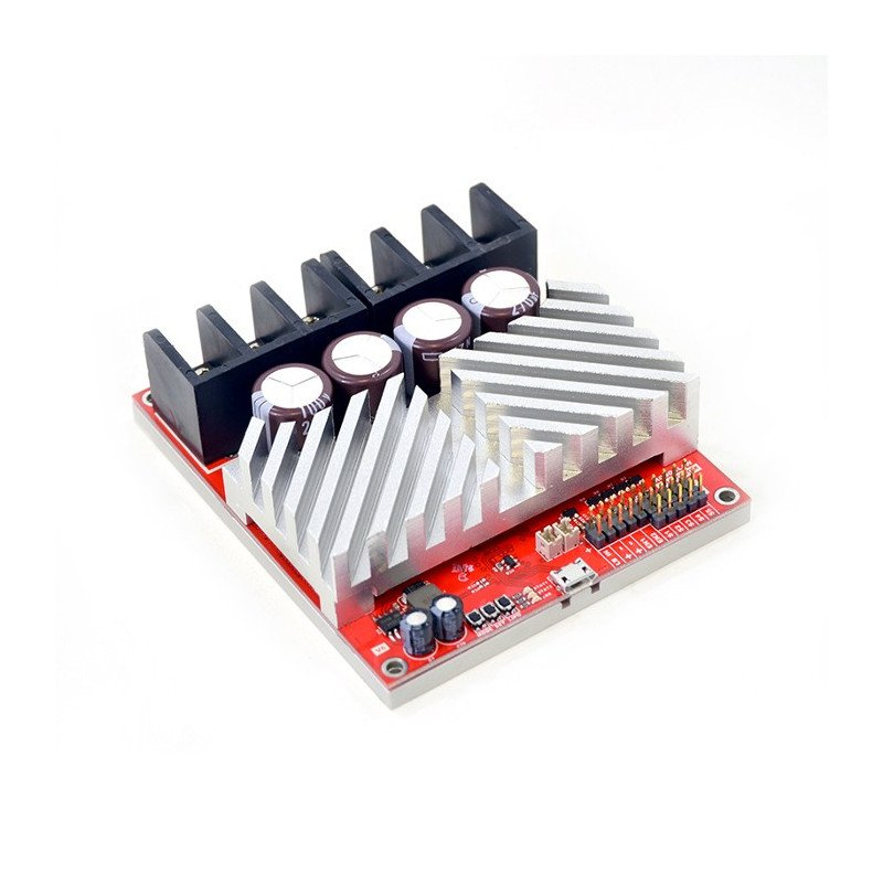 RoboClaw 2x60A USB V5 - dual channel 34V / 120A motor controller