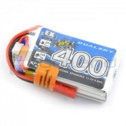 LiPol Dualsky 400mAh 35C 3S 11.1V package