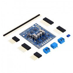 G2 Pololu Dual High-Power 24v14 - dual channel motor driver 40V/14A - shield for Arduino