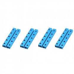 MakeBlock 60016 - Beam 0824-080 - Blue - 4 pcs.