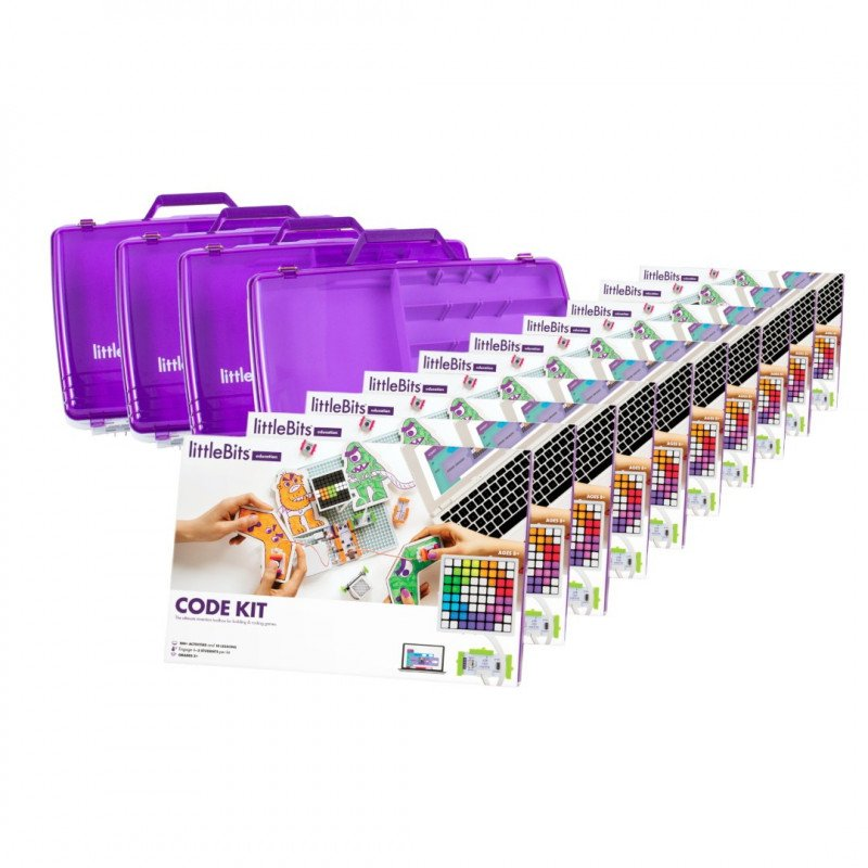 Little Bits Code Kit Class pack - LittleBits starter kit for 30 students