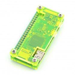 Raspberry Pi Zero Case - Fluo Open - green