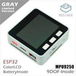 """M5Stack Core - Tensilica ESP32 LX6 Dual-Core 240MHz wi-fi Bluetooth - MPU9250 - LCD 2"""""""