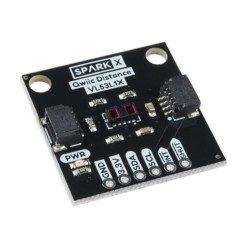 SparkFun VL53L1X time-of-flight - I2C (QWIIC) distance and ambient light sensor