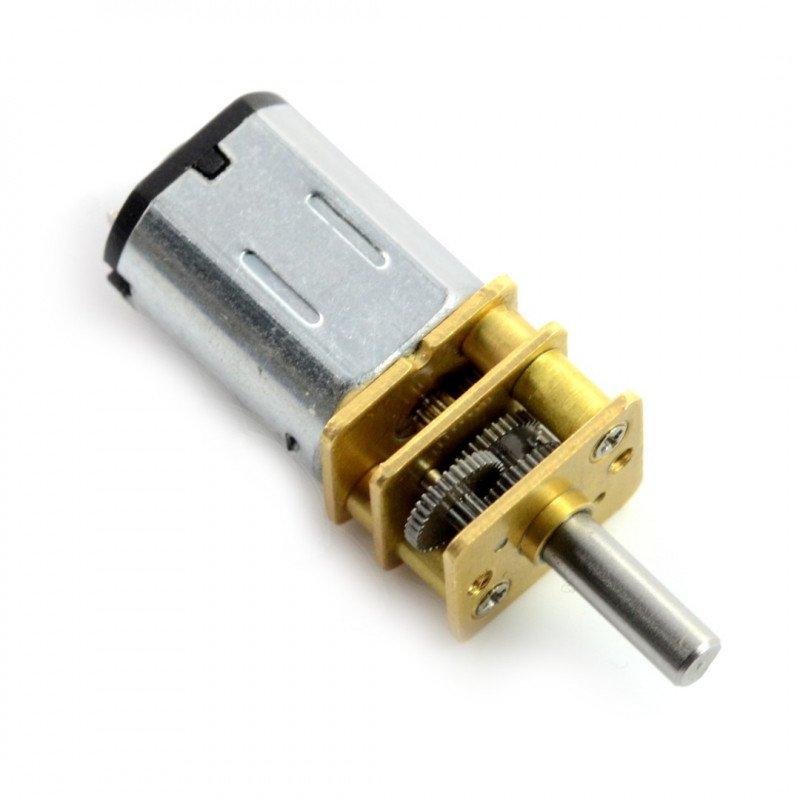 N20-BT37 micro 210:1 140RPM motor - 9V
