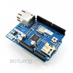 Arduino Ethernet Shield with SD card reader