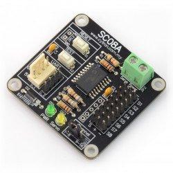 Cytron SC08A - 8-channel servo controller, UART