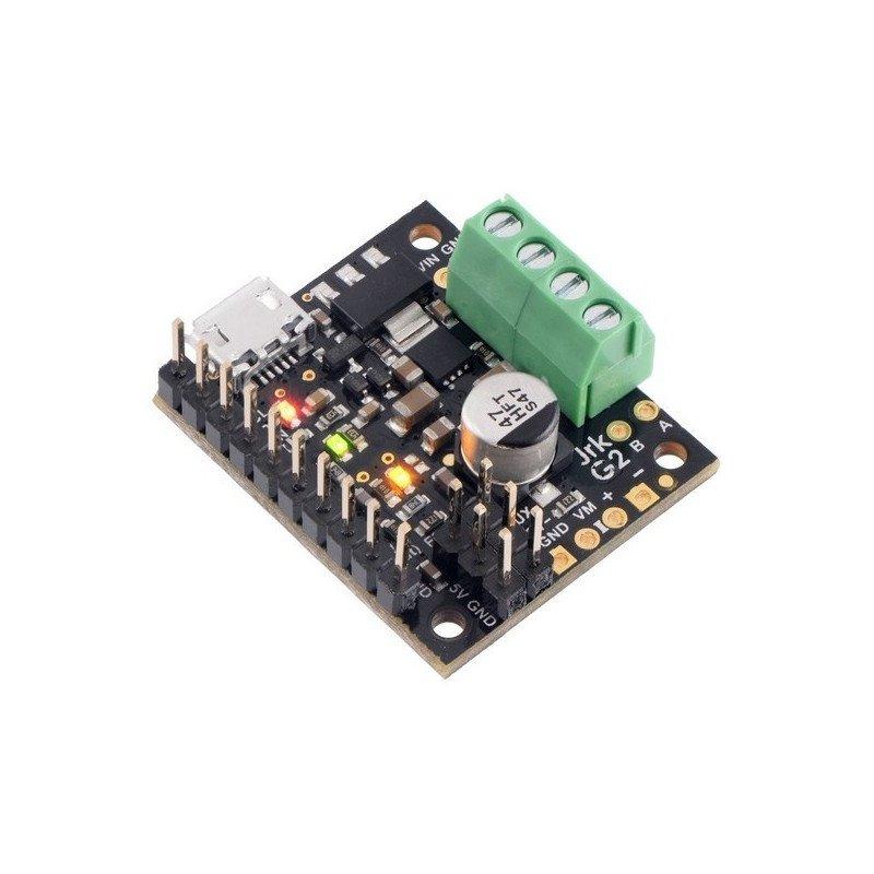 Pololu JRK G2 21v3 - single channel USB motor controller with 28V/2,6A feedback - assembled