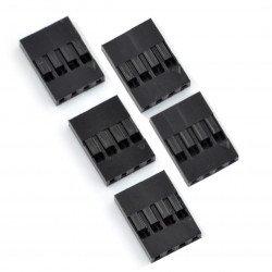 BLS connector - 4x1 socket - 5pcs.
