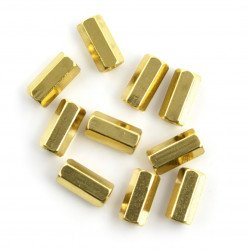 Bushing brass - 10mm - 10pcs