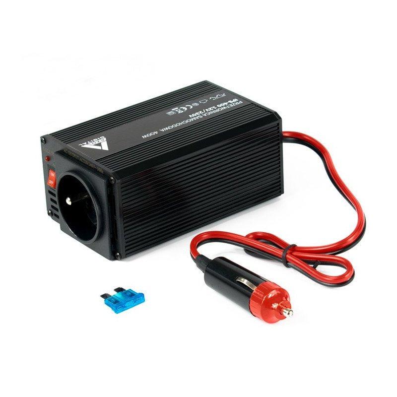 Voltage converter AZO Digital 12 VDC / 230 VAC IPS-400 400W