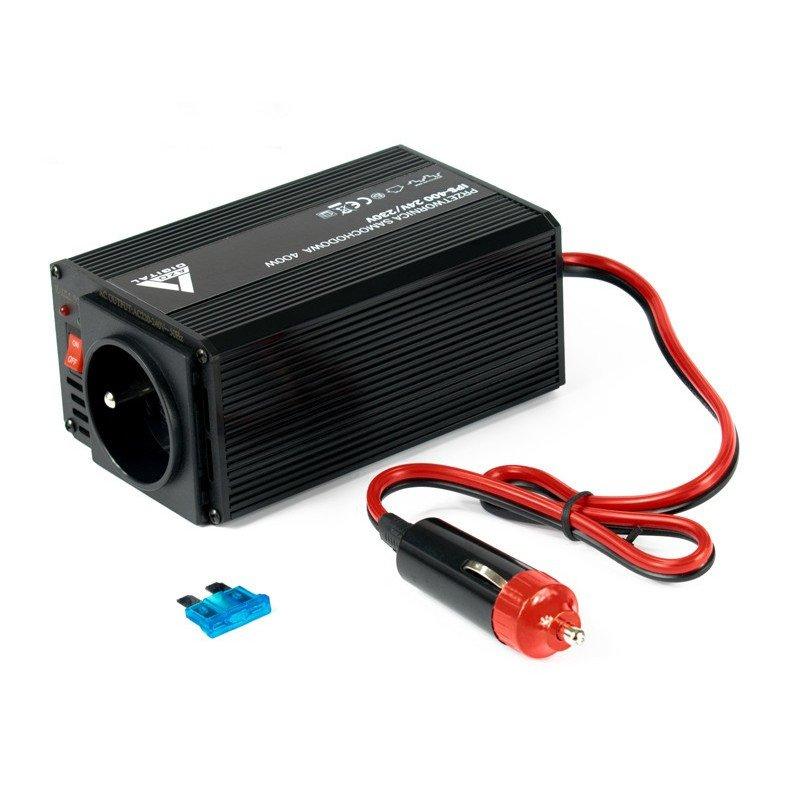 Voltage converter AZO Digital 24 VDC / 230 VAC IPS-400 400W