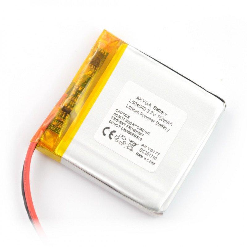 Li-Pol Akyga 500mAh 1S 3.7V Li-Pol Akyga battery