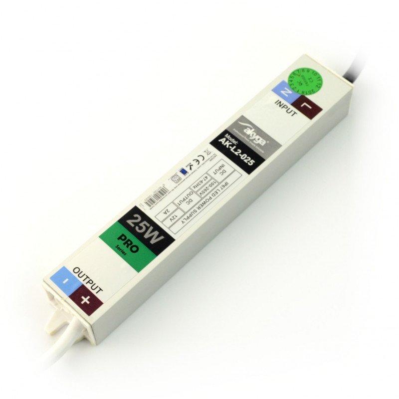 Zasilacz do LED Akyga 2.0A 25W