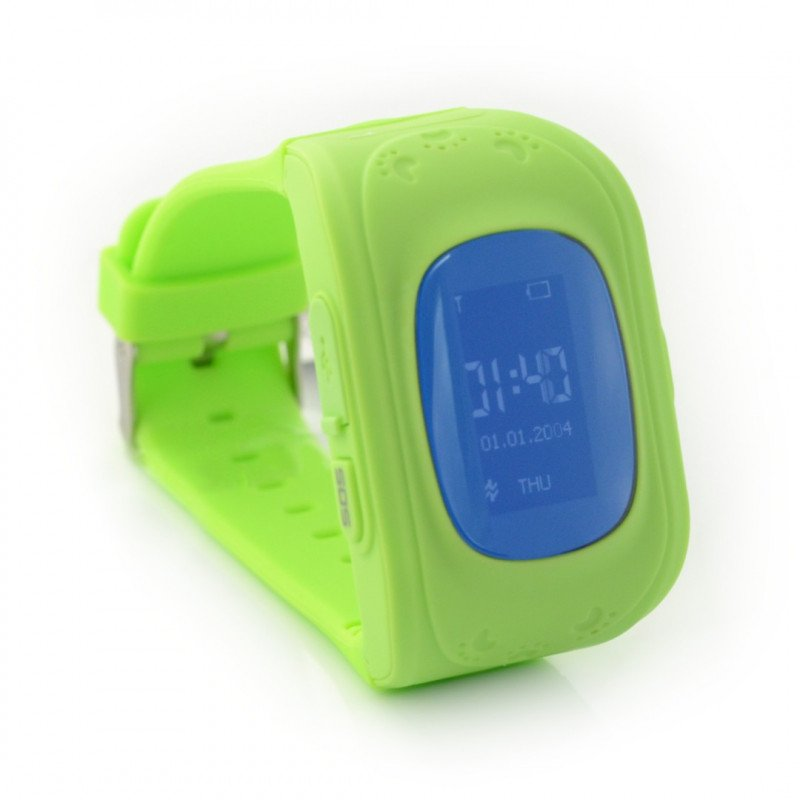 Smart Watch for kids with GPS locator ART AW-K01- green