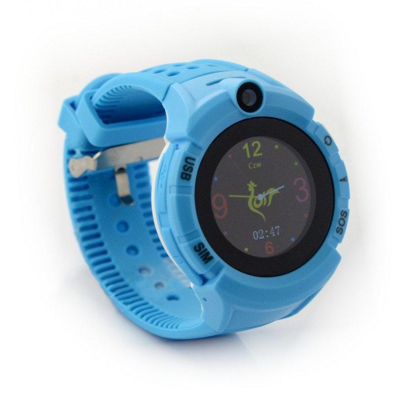 Watch Phone Kids with GPS/WIFI locator ART AW-K03 - blue