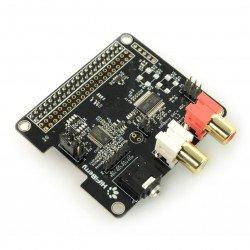 HiFiBerry DAC+ ADC - sound card for Raspberry Pi 3/2/B+/A+/Zero