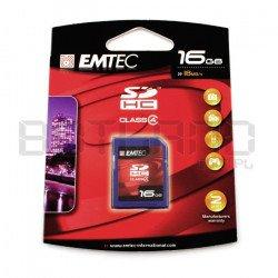 Emtec SDHC SD 16GB class 4 memory card